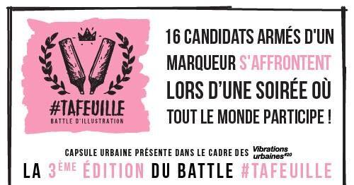 VU 2017 : 3ème édition du battle d'illustration #tafeuille !