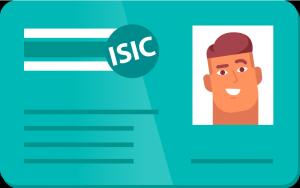 La carte ISIC: une carte étudiante internationale