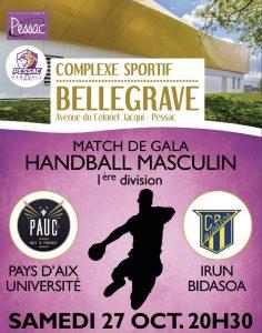 Du handball de haut niveau à Pessac!