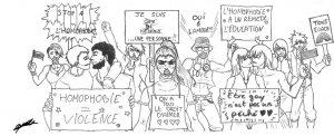 A la rencontre de Wake Up pour une discussion sur les violences LGBT+phobes