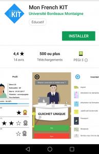 French Kit: l'application ludique pour s'intégrer