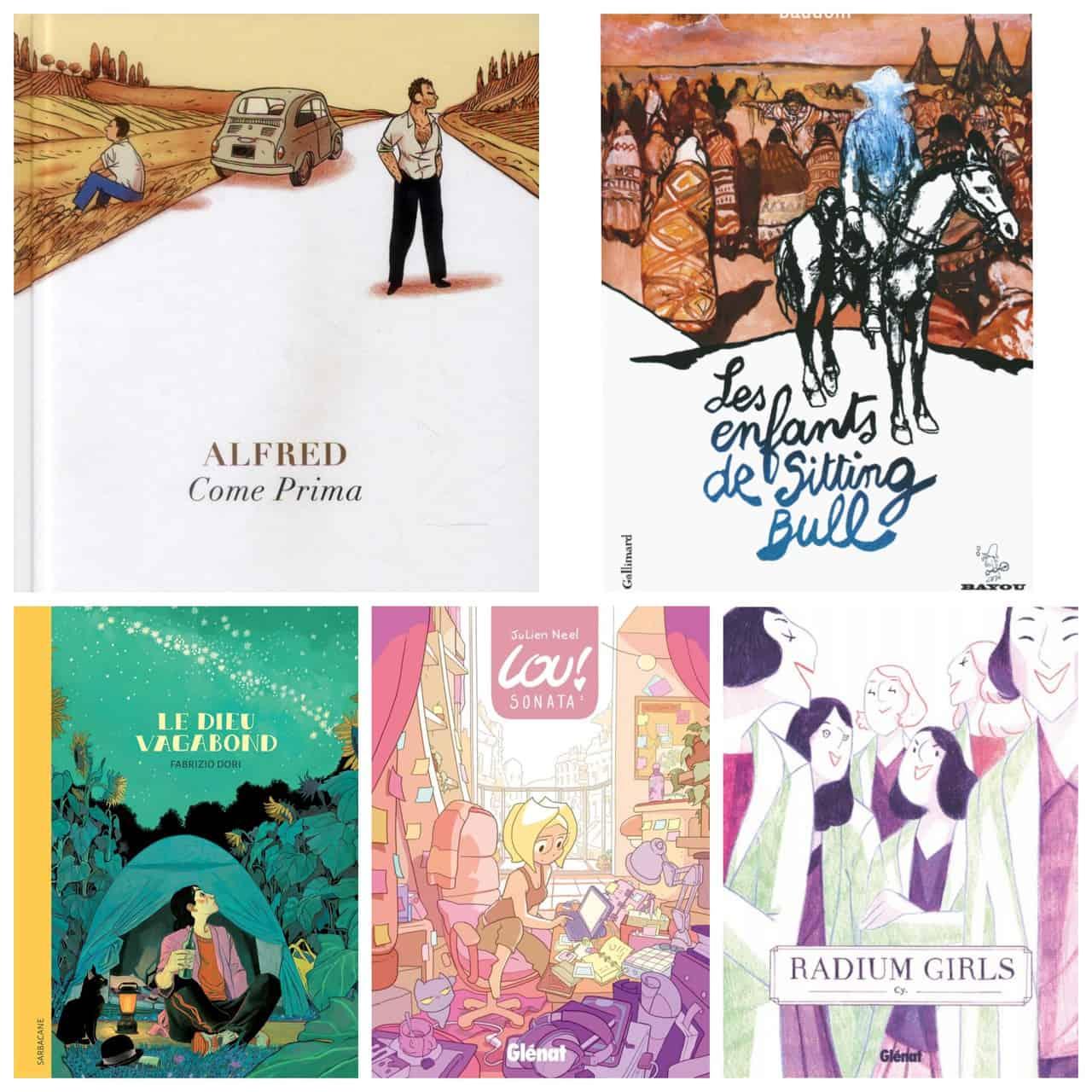 5 BD et romans graphiques à savourer