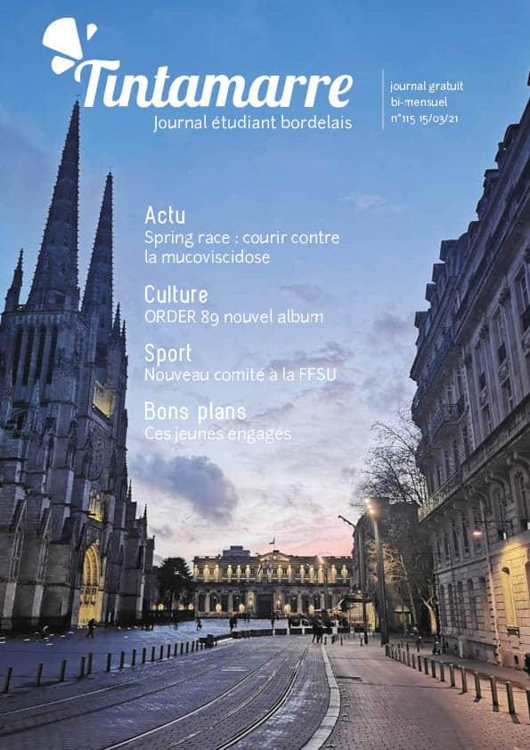 Couverture du Journal Tintamarre