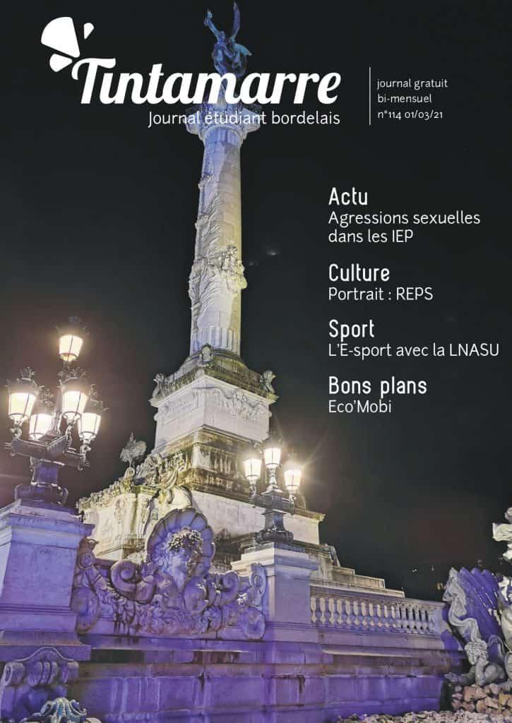 Première couverture numéro 114 Journal Tintamarre