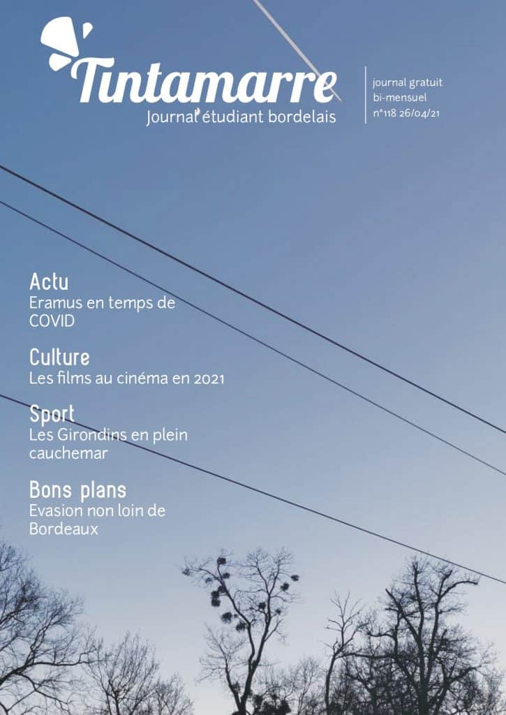 numéro 118 Journal étudiant Tintamarre Bordeaux